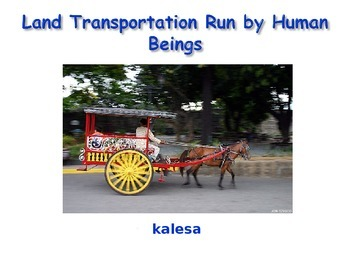 Transportation Lesson