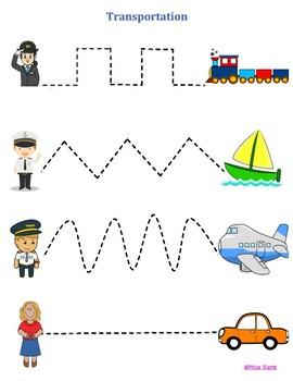 Transportation Line Trace