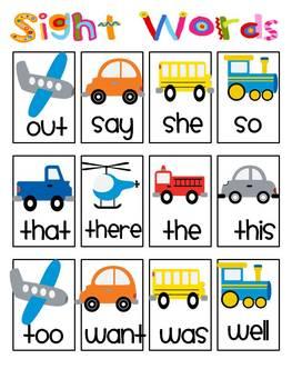 Transportation Literacy Activities