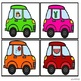 Letter Sounds Correspondence Matching Centers Transportation Theme