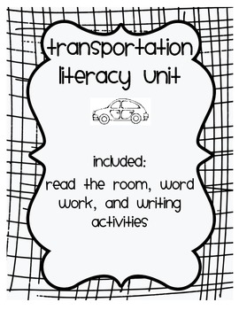 Transportation Literacy Unit