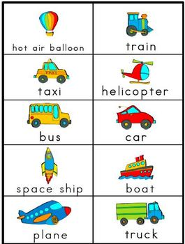 Transportation Literacy Unit - Common Core