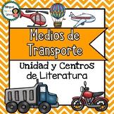 Transportation Literacy Unit in **SPANISH**