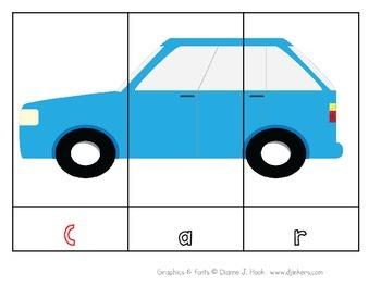 Transportation Literacy Vocabulary English