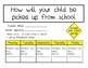 Transportation Log For Students