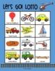 Transportation Lotto: Cars, Trucks, Boats, Airplanes