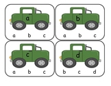 Transportation Lower to Lower Clip Cards