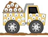 Transportation Lowercase Alphabet Mat
