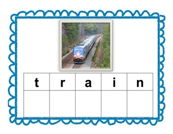 Transportation Magnet Mats for Writing or ABC center