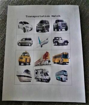 Transportation Match