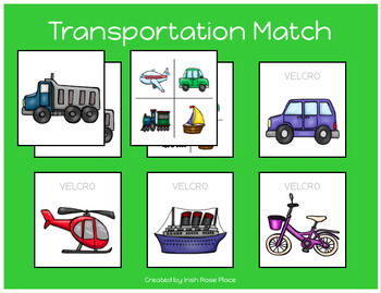 Transportation Match Sheets
