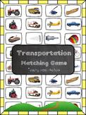Transportation Matching Game