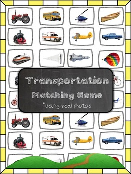 Transportation Matching Game
