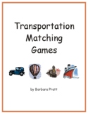 Transportation Matching Games eBook