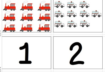 Transportation Matching Quantity to Number