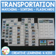 Transportation Matching Sorting Boards + Flashcards