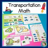 Transportation Math (Graphing, Sorting, Venn Diagrams and Measurement!)