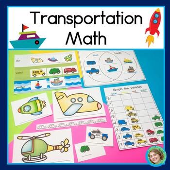 Transportation Venn Teaching Resources Teachers Pay Teachers