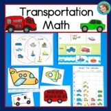 Transportation Math  with Graphing, Sorting, Venn Diagrams