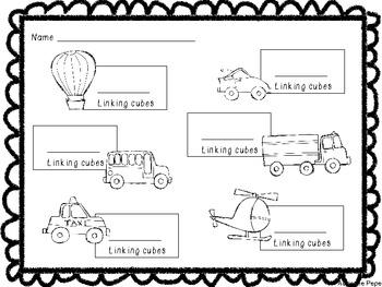 Transportation: Math Activities
