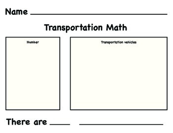 Transportation Math Game