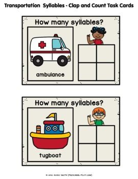 Transportation Math and Literacy