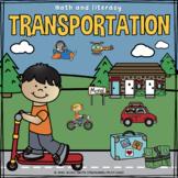 Transportation Math and Literacy
