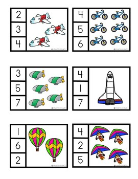 Transportation Math and Literacy Activities