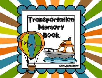 Transportation Memory Book