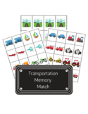 Transportation Memory Match