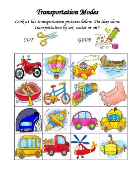 Transportation Modes Categories