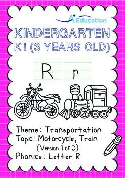 Transportation - Motorcycle, Train (I): Letter R - K1 (3 y