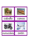 Transportation Nomenclature Spanish