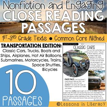 Close Reading: Transportation