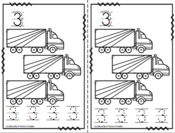 Transportation Number Books (Air-Land-Water)