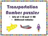 Transportation Number Puzzle