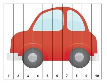 Transportation  Number Puzzles