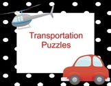 Transportation  Number Puzzles