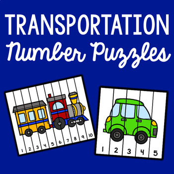 Transportation Number Sequencing Puzzles