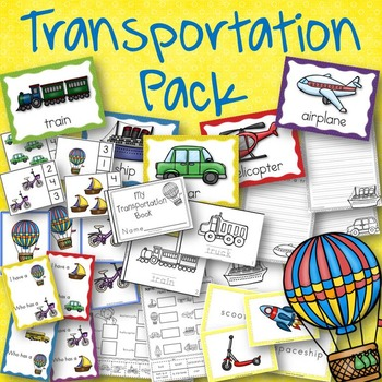 Transportation Pack Book, Posters, and Activities