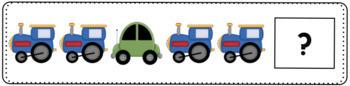 Transportation Patterning Cards - Full Color Version