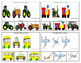 Transportation Patterns Task Clip Cards FREEBIE