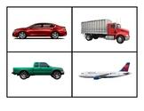 Transportation Photo Flashcards