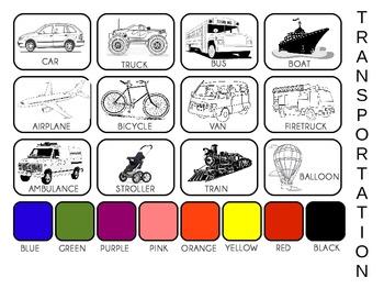 Transportation Pictures PECS