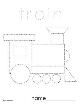 transportation pre writing by little stars learning tpt. Black Bedroom Furniture Sets. Home Design Ideas