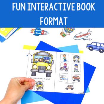 Transportation Preschool Language Unit