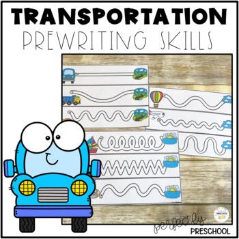 Transportation Prewriting Skills {Dollar Deal}