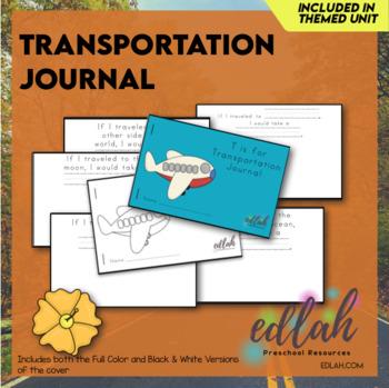Transportation Printable Journal