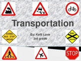 Transportation Project Menu- Powerpoint