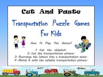 Transportation Puzzle Games